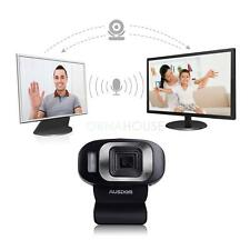 AUSDOM 1920x1080 Full HD Camera Autofocus Webcam Network Camerawith Mic for PC