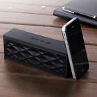 Portable Wireless Bluetooth Stereo Mini Speaker Boombox For iPhone Samsung Black