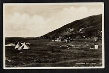 Aberdovey - Golf Course -  real photographic postcard