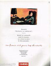Publicité Advertising 1989 Le Catalogue 3 Suisses