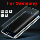 For Samsung Galaxy S6 S7 Edge Clear HD Full Cover Curved Screen Protector Film