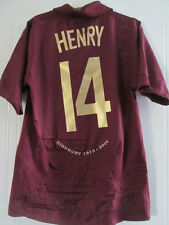 Arsenal 2005-2006 Henry 14 Redcurrant Football Shirt Small Trikot /37578