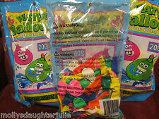 4000 New in Bags Water Balloons- W/ water filler Included-- *Free shipping!!!