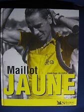 LIVRE MAILLOT JAUNE DE JEAN PAUL OLLIVIER 2e EDITION 2001 TOUR DE FRANCE