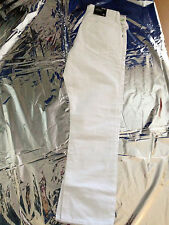 MEN'S GAP STRAIGHT FIT COUPE DROITE WHITE JEANS/PANTS SIZE 32/30  $59 ORG. PRICE