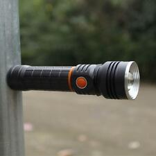 High Quality CREE XPE+COB LED Magnetic tail Flashlight Torch 18650 WorkLight LN