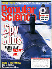 Popular Science Magazine September 2000 Spy Subs EX 020416jhe