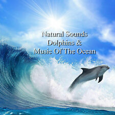 Natural Sounds Dolphins & Music Of The Ocean CD Relaxation Sleep Stress Relief