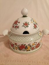 Villeroy & Boch - Summerday Soup Tureen w/ Lid  - Yellow, Green, Rust - Germany