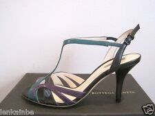 Bottega Veneta Multi Color Leather Strappy Sandals Shoes 39 9 $660