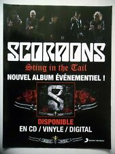 PUBLICITE-ADVERTISING :  SCORPIONS  2010 Sting in the Tail