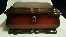 Bombay Company Cherrywood Jewelry Box 2000 missing key