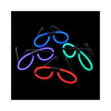 Assorted Color Glow Glasses (12 Pack) Glow Products Party Eyeglasses 1 Dozen