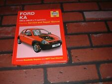 HAYNES MANUAL FOR FORD KA.1996 TO 1999. P TO T REGISTRATION.