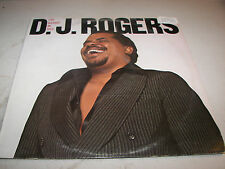 D. J. ROGERS Love Brought Me Back LP EX Columbia BL35393 1978 Lyrics Sleeve