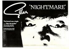 3/10/1981Pg18 Single Advert 7x10 Gillan, Nightmare