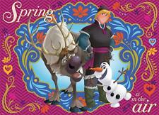 MEGA BRANDS DISNEY FROZEN FRIENDS JIGSAW PUZZLE SPRING IS IN THE AIR 300 PC SVEN