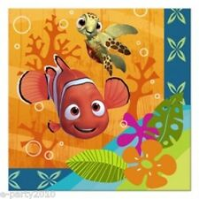 FINDING NEMO Coral Reef SMALL NAPKINS (16) ~ Birthday Party Supplies Serviettes