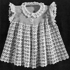 BABY DRESS KNIT Crochet Patterns Shell TAT DOILY Hairpin TABLE Bed POTHOLDER