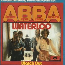 ☆ CD Single EUROVISION 1974 Suede : ABBA Waterloo 2-track CARD SLEEVE ☆