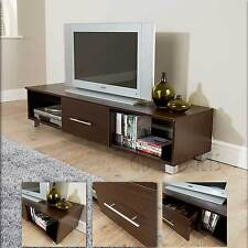 TV Unit TV Cabinet Large TV Stand Walnut Finish Living Room Furniture cupboard