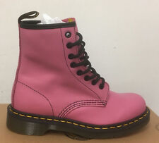 DR. MARTENS 1460  CANDY PINK SOFTY T  LEATHER  BOOTS SIZE UK 5
