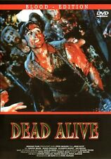 "Braindead / Dead Alive , "" Blood Edition"" , 100% uncut , Peter Jackson"