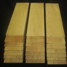 "3/8"" x 4"" x 12"" Cherry thin boards lumber wood crafts"