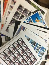 Self Stick Sheets Postage Stamps. Nice Assortment $500.00 Face Value.