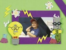 1 Science Photo Frame Magnet Craft Kit Great for Kids Science Fair!