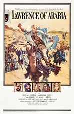 Lawrence of Arabia 1962 Classic Film  Poster A4