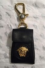 Genuine Gianni Versace Key Ring/ Leather  Coin Purse