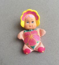 Vintage 1980's SO SMALL BABIES Galoob Mini Bean Bag Doll SHRINKI VIOLET