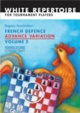 French Defence Advance Variation: Volume Two (Progress in Chess)-ExLibrary