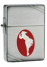 "Zippo ""Windy Varga"" Emblem 1935 Replica Chrome Lighter, 35000 Units, 28729"