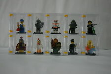 """NEW"" lego minifigures display case & figures case / 10pcs(CASE ONLY)"