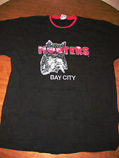 HOOTER's Hooters T shirt sexy wings XL tee Bay City Michigan More than Mouthful