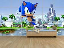SONIC GEANT POSTER CHAMBRE ENFANTS ROOM KIDS
