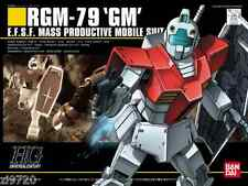 BANDAI HG HGUC RGM-79 GM (Mobile Suit Gundam) 1/144 scale kit