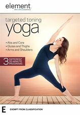 Element: Targeted Toning Yoga - Andrea Ambandos NEW R4 DVD