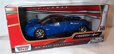 Pagani Huayra metallic blue and black 1-24 Scale Model New in box