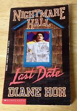 Nightmare Hall Last Date No. 11 by Diane Hoh (1994, Paperback)