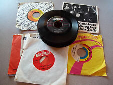 1950`s - 60`s lot of (24) 45 rpm records