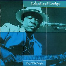 JOHN LEE HOOKER - KING OF THE BOOGIE 2 CD NEU