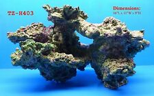 LIVE ROCK CORAL REEF TZ-H403 IMITATION POLYRESIN AQUARIUM DECOR FRESH OR SALT