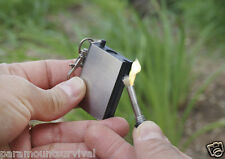Instant Survival Magnesium Fire Starter 15,000 Matches in One Survival Camping