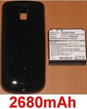 Coque Noir + Batterie 2680mAh  Pour  HTC MyTouch 3G