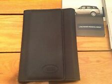 LAND ROVER RANGE ROVER OWNERS MANUAL OEM 2014
