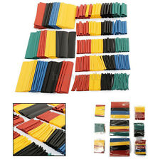 Soloop 328Pcs Car Electrical Cable Heat Shrink Tube Tubing Wrap Wire Sleeve Kit