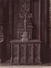 Musée du Louvre Armoire et Candélabre Paris France Vintage Albumine ca 1880